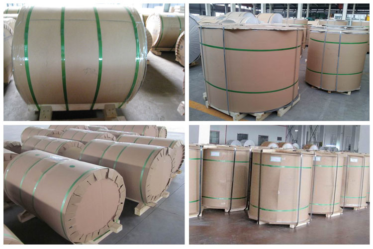 aluminum coils packing
